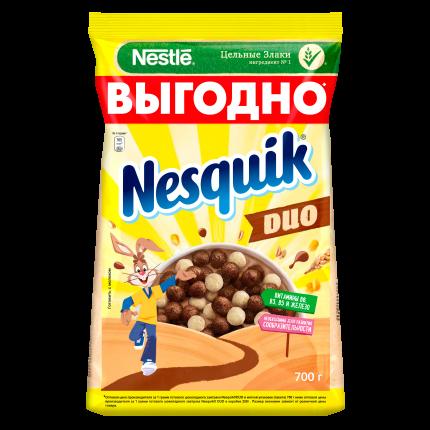 Шоколадные шарики Nesquik duo готовый завтрак 700 г