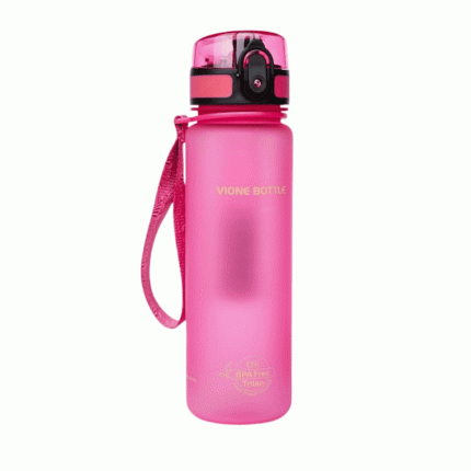 Водородно-минеральная бутылка Vione Mineral Bottle спортивная розовая