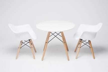 Комплект детской мебели KIDDY'S STORE Eames DAW столик и два стульчика с подлокотниками