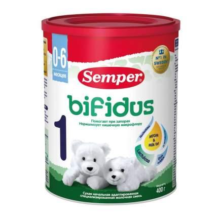 Молочная смесь Semper Bifidus 1 от 0 до 6 мес. 400 г