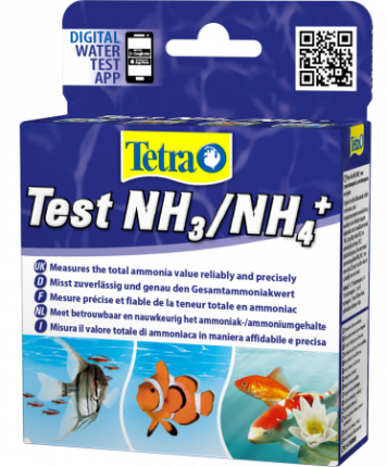 Тест для воды TetraTest NH3/NH4  на аммиак и аммоний 6мл