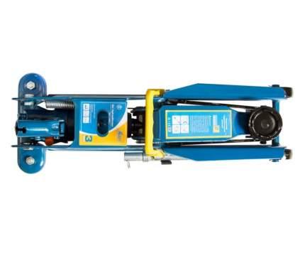 Домкрат подкатной гидравлический Kraft 3т (в кейсе), (мин. 135мм-макс. 390мм), КТ 820005