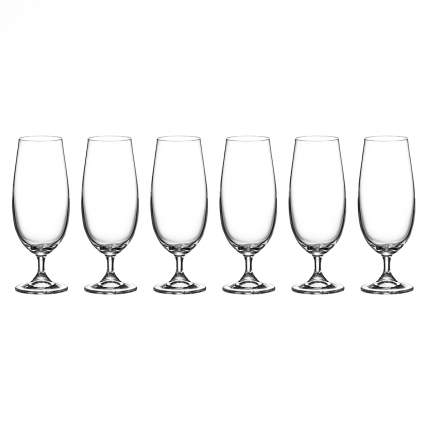 Набор бокалов для пива Crystalite Bohemia Colibri/Gastro 380 мл (6 шт)
