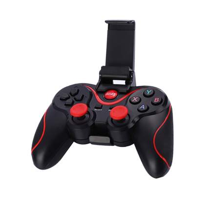 Беспроводной геймпад для смартфона VR galaxy VR-PAD-1 с держателем Black