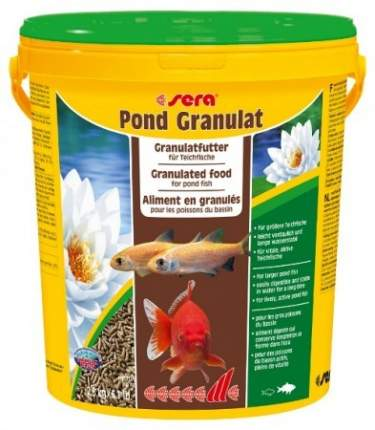 Корм для рыб Sera Pond BIOGRANULAT, гранулы, 21 л