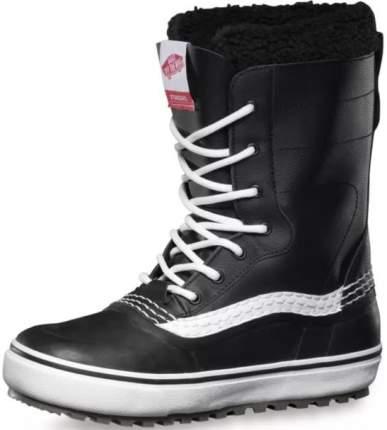 Ботинки для сноуборда Vans Standard Mte 2021, black/white, 28