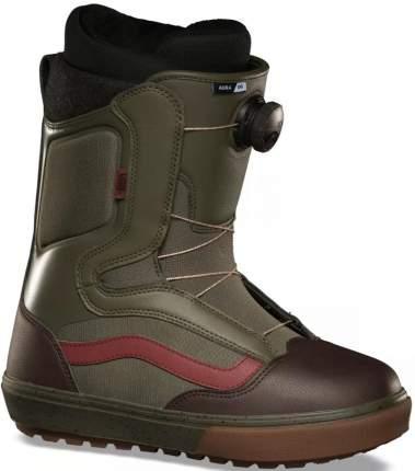 Ботинки для сноуборда Vans Aura Og Grape 2021, leaf/gum, 29.5