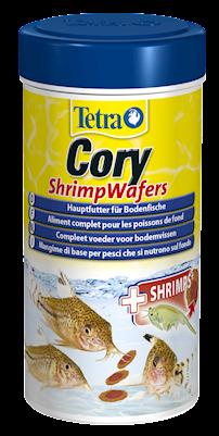 Корм для сомиков-коридорасов Tetra Cory Shrimp Wafers, с креветками, палочки, 100 мл