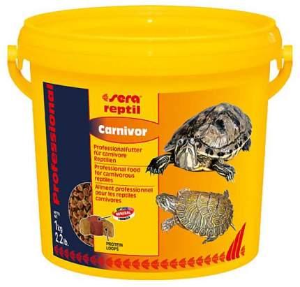 Корм для рептилий Reptil Professional Carnivor корма, рыба, ведро, 1кг
