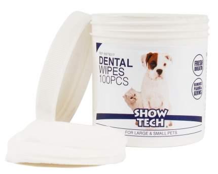 Салфетки гигиенические для зубов Show Tech Dental Wipes, 100 штук