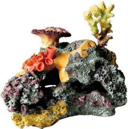 """Искусственный коралл TRIXIE  """"Коралловый риф"""", разноцветный, 32х15.5х25.5 см"""