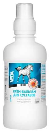 Крем-бальзам для суставов VEDA Zoo VIP с глюкозамином и хондроитином 250 мл