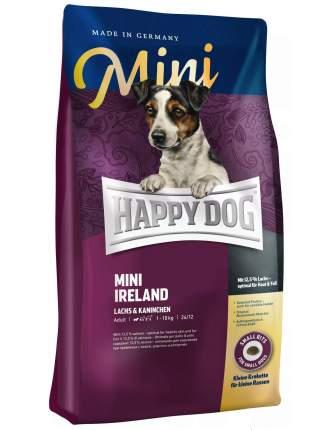 Сухой корм для собак Happy Dog Supreme Mini Irland, для мелких пород, кролик, лосось, 1кг
