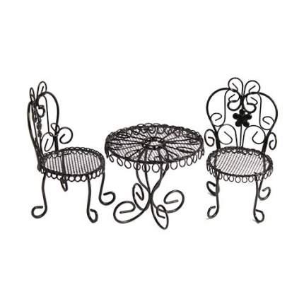 Мебель для кукол Астра стол с двумя стульями KB3585 Астра
