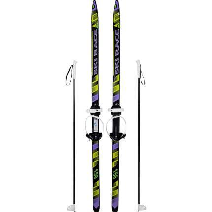 Лыжи подростковые SKI RACE с палками, 150/110