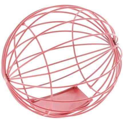 Кормушка-игрушка NOBBY ШАР металл 10 см
