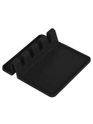 Подставка для ложки, половника и крышки Litzen Base, черный