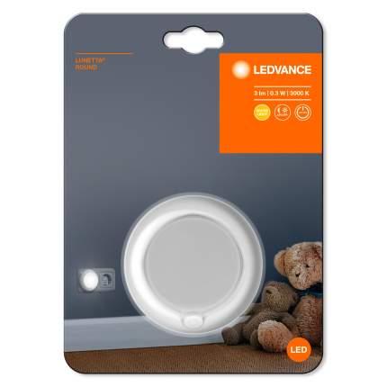 Ночник-мобильный помощник LUNETTA круглый с сенсором Белый LEDVANCE 0,3Вт 3Лм 3000К
