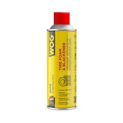 Пенный очиститель-кондиционер шин и бамперов с матовым эффектом WOG, 650 мл