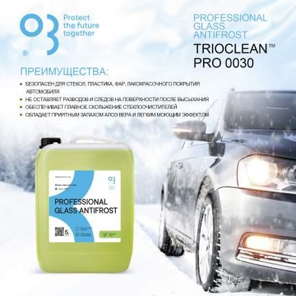 Незамерзающая жидкость для автомобилей TRIOCLEAN PRO незамерзайка 5 л