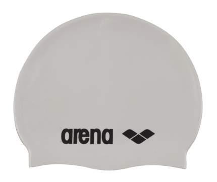 Шапочка для плавания Arena Classic Silicone white/black