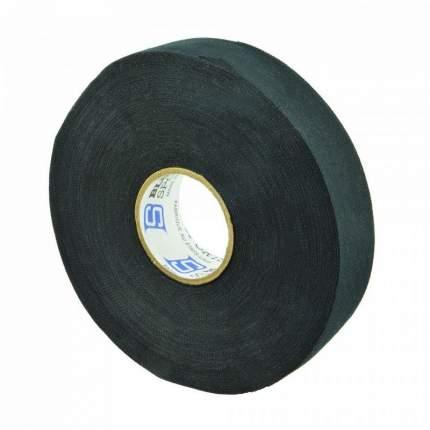 Лента хоккейная Blue Sport Tape Coton Black арт.603308 (24мм x 47м) черная