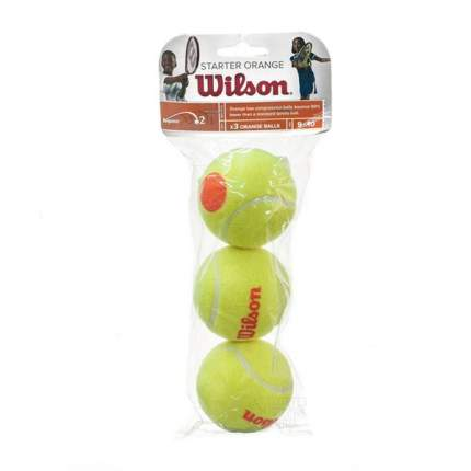 Мяч теннисный Wilson Starter Orange арт.WRT137300