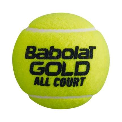 Мяч теннисный Babolat Gold All Court 3B арт.501086 уп.3 шт