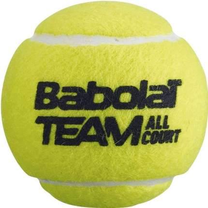 Мяч теннисный Babolat Team All Court арт.502081 уп.4 шт