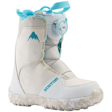 Ботинки для сноуборда Burton Grom Boa 2021, white, 20