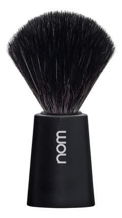 Помазок натуральный черная фибра Muehle Nom Carl (черный пластик)