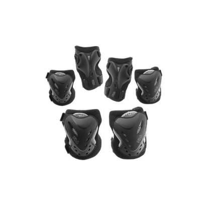 Комплект защиты Fila Fitness Gear, black, L