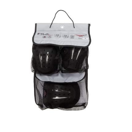 Комплект защиты Fila Multitech Gear, black, S