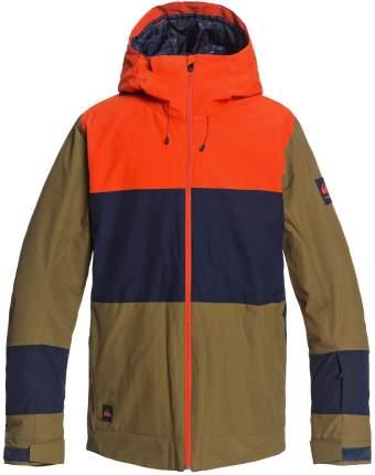 Куртка Сноубордическая Quiksilver 2020-21 Sycamore Military Olive (Us:s)