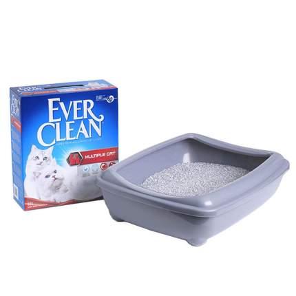 Комкующийся наполнитель для кошек Ever Clean Multiple Cat бентонитовый, 10 кг, 10 л