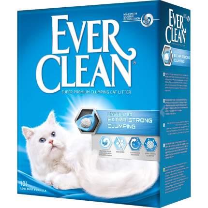 Наполнитель EVER CLEAN Extra Strong комкующийся 10 кг без запаха