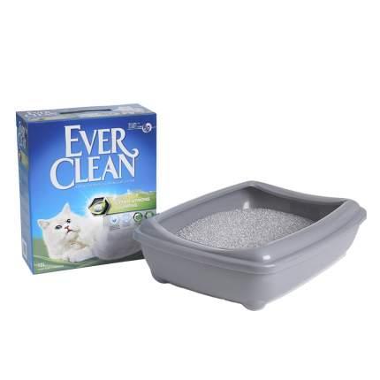 Комкующийся наполнитель Ever Clean Extra Strong Clumping Scented бентонитовый, 10 кг