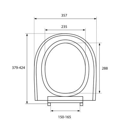 Крышка-сиденье для унитаза Milardo 020PP00M31
