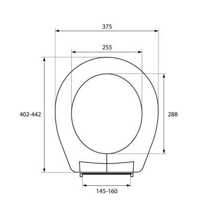Крышка-сиденье для унитаза Milardo 010PP00M31