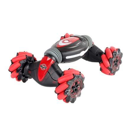 Машинка-перевертыш Stunt Double Sided с управлением жестами и пультом, красная