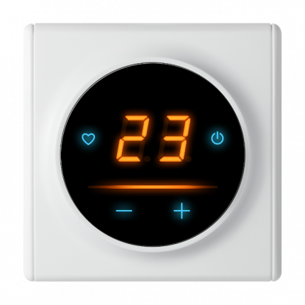Терморегулятор OneKeyElectro c WiFi ОКЕ-20 для теплого пола белый 2199318