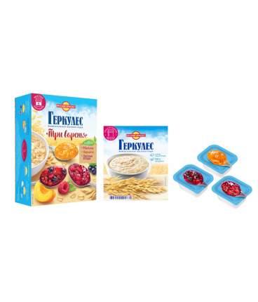 Овсяная каша момент Геркулес с конфитюром абрикос-малина-лесные ягоды 348 г