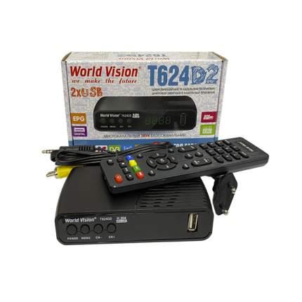 DVB-T2 приставка World Vision T624 D2 Black