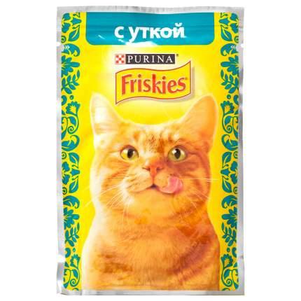 Влажный корм для кошек Friskies, c уткой в подливе, 85г