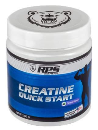 Креатин RPS Nutrition Creatine Quick Start (вишня), банка 300 г