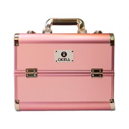Бьюти кейс для косметики Okira CWB 6350 розовый