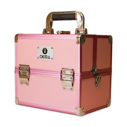 Бьюти кейс для косметики Okira CWB 5350 розовый