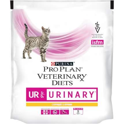 Сухой корм для кошек Pro Plan Veterinary Diets UR Urinary, при МКБ, курица, 0,35кг