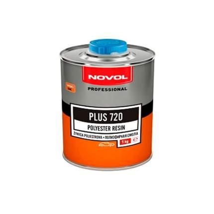 Полиэфирная смола Novol PLUS 720, 1 кг 36112 + Отвердитель