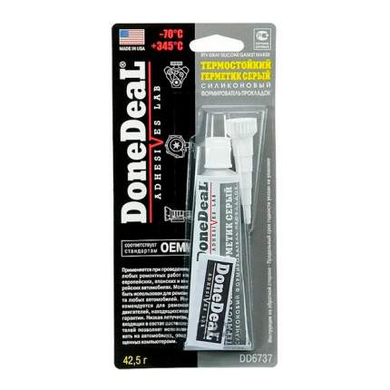 Формирователь прокладок силиконовый серый 42,5 гр DD6737 от -70C до +345 C DoneDeal DD6737